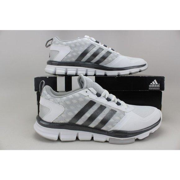 Men's S84745 Speed Trainer 2 White/Grey-Silver